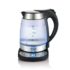 MODELIS: AD 1247<br />Kettle Adler AD 1247 With electronic control, Glass, Stainless steel/Black, 2600 W, 1.7 L