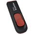 MODELIS: AC008-32G-RKD<br />ADATA C008 32 GB, USB 2.0, Black/Red