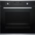 MODELIS: HBG278BS0S<br />Bosch Oven HBG278BS0S Built-in, 71 L, Stainless steel/Black, Pyrolysis, A, Mechanical, Height 60 cm, Width 60 cm, Multifunctional