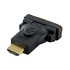 MODELIS: 08723<br />4WORLD 08723 4World Adapter HDMI [M] > DVI-D [F] (24+1), black
