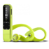 MODELIS: 395583<br />Energy Sistem Active 2 MP3 Player Internal memory 4 GB, Neon Green, MP3 / WMA, USB connectivity
