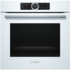 MODELIS: HBG672BW1S<br />Bosch Oven HBG672BW1S Multifunction, 71 L, White, Pyrolysis, Rotary and electronic, Height 60 cm, Width 60 cm