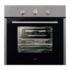 MODELIS: ME 605 G/B 07030306<br />Cata ME 605 G/B Multifunctional Oven, 57L, 5 Functions, EC-A, Easy Clean system, Double glass, Mechanical cooking programmer, 4 levels for placing easy-to-move trays, Stainless steel/Black glass