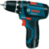 MODELIS: 0601868107<br />Bosch Cordless drill 10.8-2 10.8 V, 1.5 Ah, Li-Ion, Batteries included 2 pc(s)